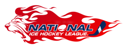 National Ice Hockey League Logo